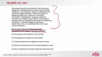 Toplumsal Değişme (2017 LYS- FELSEFE) izle