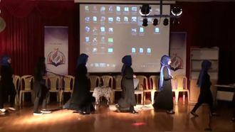 Karşıyaka Niyazi Memur Kız Anadolu İmam Hatip Lisesi İşaret Dili Gösterisi izle