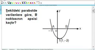 Parabolün Tanımı ve Tepe Noktası ile Eksenleri Kestiği Noktalar 26 izle