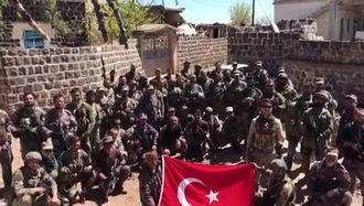 Afrin'deki askerlerimizden okulumuz öğrencilerine anlamı video izle