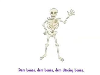 İskelet dansı izle
