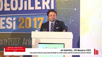 FATIH ETZ 2017 : Ali HANTAL - Yaklaşan Hikaye Anlatımı Devrimi Ve Türk Gençleri'Ne Su... izle