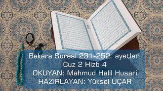 Bakara Suresi 231-252 izle