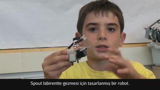 Keşif Laboratuvarı: Spout Robot'un Yapılışı izle
