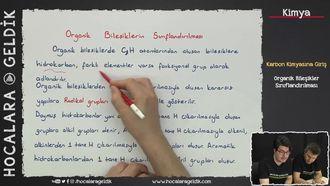 Organik Bileşiklerin Sınıflandırılması izle