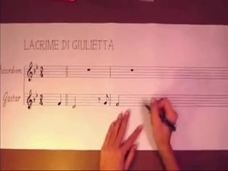 Müziğin resmini çizmek- Lacrime di giulietta izle