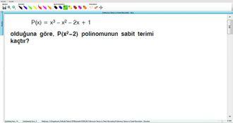 Polinomun Tanımı Ve Temel Kavramları - Kurs - 15 izle
