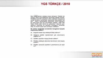 YGS 2010 TÜRKÇE/ PARAGRAFIN ANLAMI izle