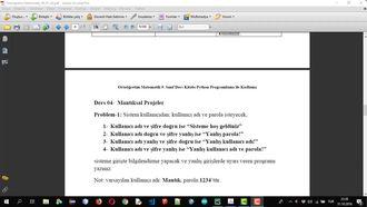 SAYILAR VE CEBİR - MANTIK 03  MANTIKSAL PROJELER 1 izle