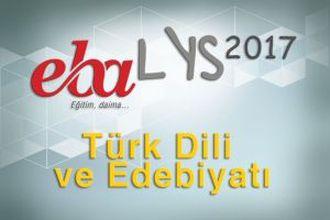 2017 LYS - Türk Dili ve Edebiyatı izle