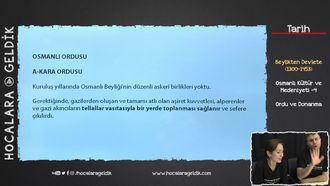 Osmanlı Kültür ve Medeniyeti -4 / Ordu ve Donanma izle