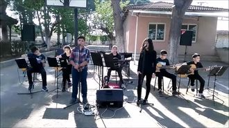 Kaymakçı Türk Hava Kurumu Ortaokulu Konseri izle