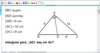 Açıortay Ve Açıortay Teoremleri 7 - EBA BİLİŞİM ORHAN BEY izle