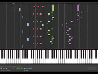 Notaları görmek, 4 el piyano izle
