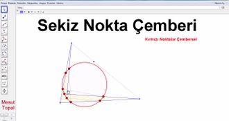 Geometri Teoremleri ve İspatları - 8 Nokta Çemberi (Mesut Topal) izle
