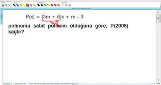Polinom Türleri Ve Polinomlarda İşlemler 2 izle