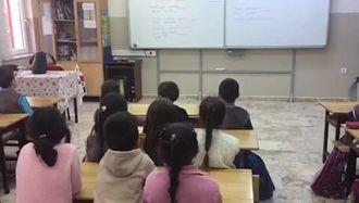 Şehit Selahattin Şişman İlkokulu 2-A sınıfının eTwinning  Projesi kapsamında söy... izle