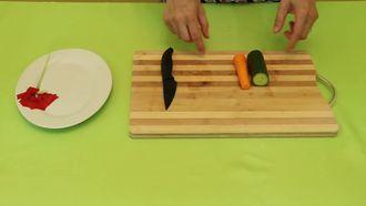 Sebze Süslemeleri- Papatya Yapımı izle