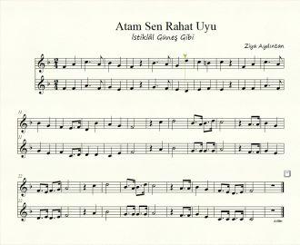 İki Sesli Nota - İstiklâl Güneş Gibi - Atam Sen Rahat Uyu izle