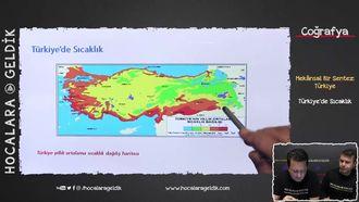 Türkiye'de Sıcaklık izle