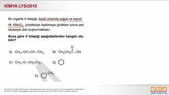 2010 LYS- Alkenlerde Bayer Testi izle