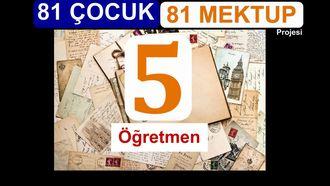81 Çocuk 81 Mektup Projesi-Yozgat Yerköy Nurdoğdu Ortaokulu izle