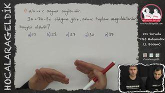 101 SORUDA YGS MATEMATİK 1 izle