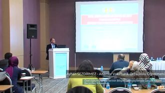 FATİH ETZ 2016 :  Ayhan SEZDİRMEZ – Anamur Vakıfbank Ortaokulu Öğretmeni- Özel Eğ... izle