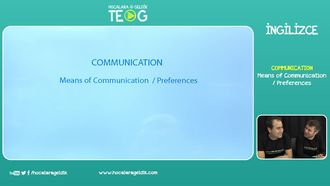 Means of Communication  / Preferences izle