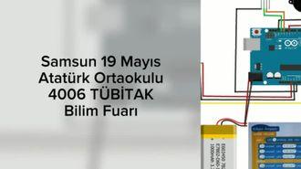 Samsun 19 Mayıs Atatürk Ortaokulu TÜBİTAK Bilim Fuarı izle