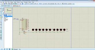 Proteus isis 19 Bus ve Wire Label kullanımı izle
