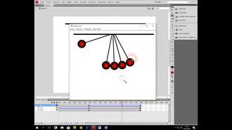 Adobe Flash Animasyon Sarkaç örneği izle