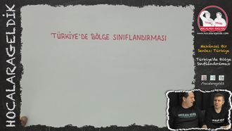 Türkiye'de Bölge Sınıflandırılması izle