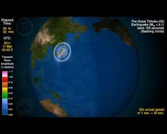 Tsunami Japonya''Doğal Afetler'' izle