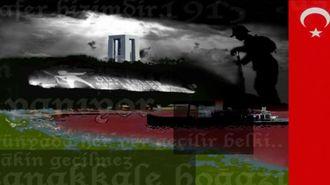 18 Mart Çanakkale Şehitlere Saygı Duruşu ve İstiklal Marsi izle