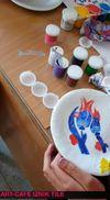 Uluslararası eTwinning Projemiz Art-cafe İznik Çinisi  Çalışmalarımız