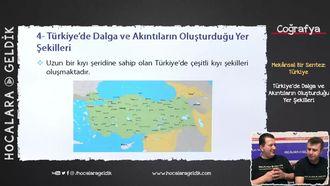 Türkiye'de Dalga ve Akıntıların Oluşturduğu Yer Şekilleri izle
