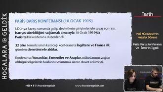 Paris Barış Konferansı ve  İzmir'in İşgali izle