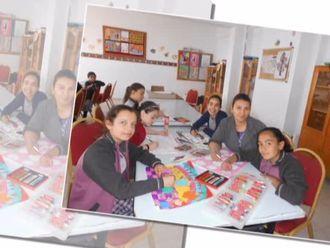 Denizli Ekrem Başer Ortaokulu Görsel Sanatlar Öğrenci Çalışmaları izle