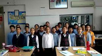 Öğrenciler,öğretmenlerine  şarkı söyledi izle