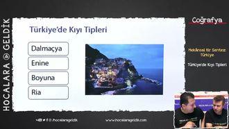 Türkiye'de Kıyı Tipleri izle