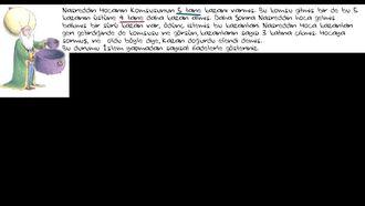 Nasreddin Hoca İle Sayısal İfadeler Oluşturma Örneği izle