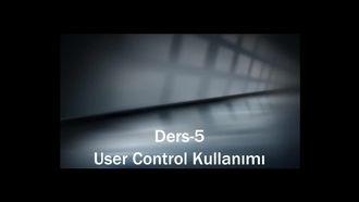 Ders-5 User Control Kullanımı izle