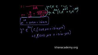 Karakteristik Denklemlerin Karmaşık Kökleri 2 izle