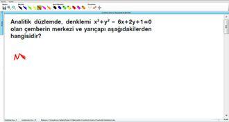 Çemberin Genel Ve Parametrik Denklemleri 6 - EBA BİLİŞİM ORHAN BEY izle