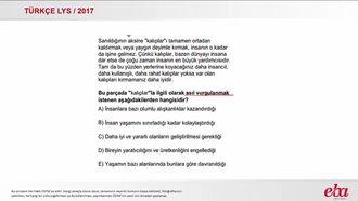 Paragrafın Anlamı ve Yorumu (LYS 2017-TÜRK DİLİ VE EDEBİYATI) izle