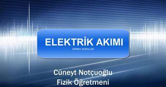 Elektrik Akımı ve Etkileri izle