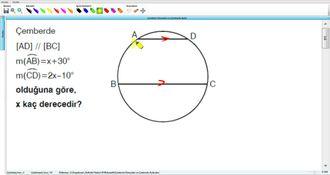 Çemberin Elemanları Ve Çemberde Açılar 4 izle