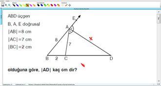 Açıortay ve Açıortay Teoremleri 16 izle