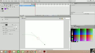 Adobe Flash CS6 - Motion Tween izle